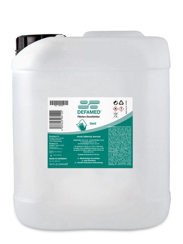 Flächen-Desinfektion 5000 ml