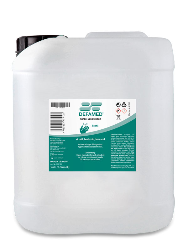 Hände-Desinfektion 5000 ml